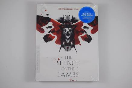 "Criterion Collection ""The Silence of the Lambs"" Blu-ray"
