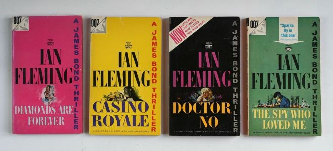 Ian Fleming's James Bond Signet Paperbacks
