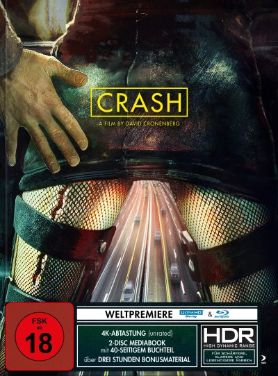 Crash - Turbine Limited Edition 4K UHD Blu-Ray Mediabook