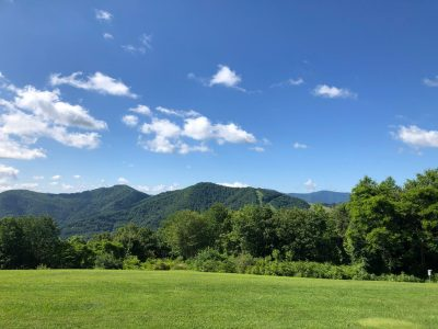 The View from Gooseberry Knob at The Swag