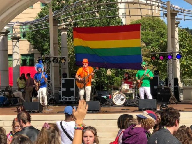 Modern Strangers at Blue Ridge Pride 2018