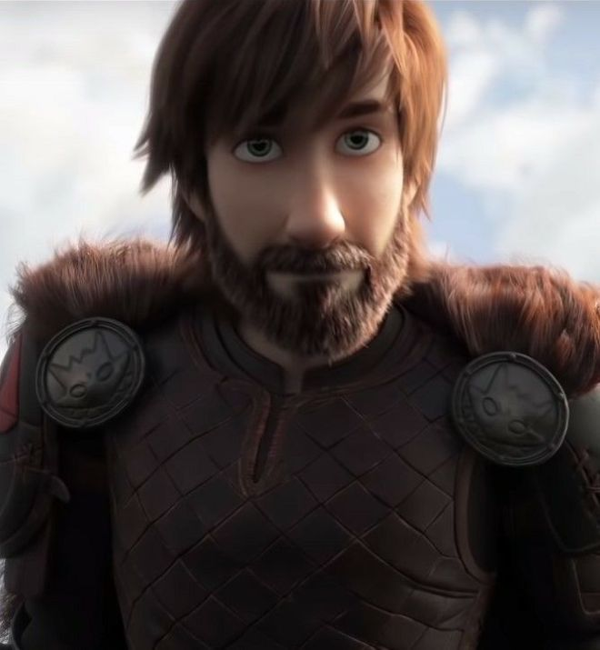 Hiccup + Beard