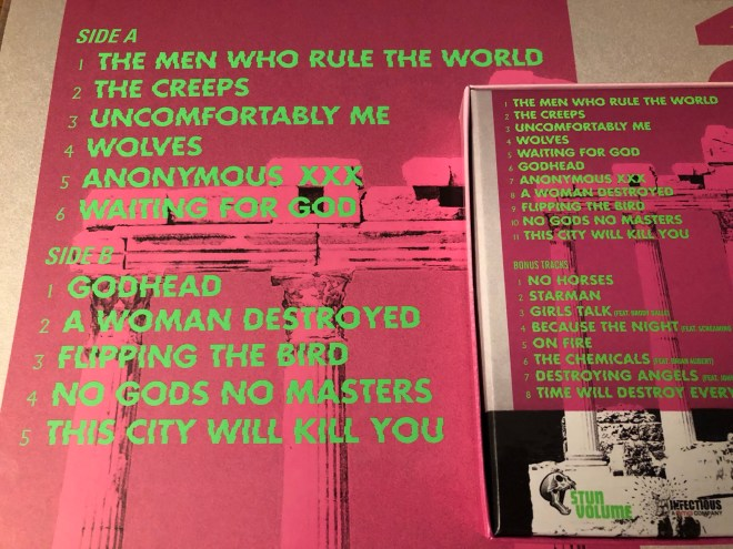 Garbage's Altered Track Listing