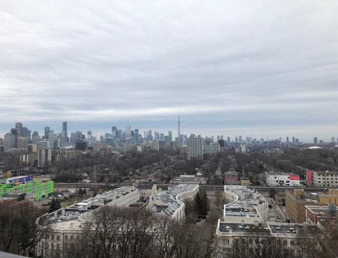 Downtown Toronto as seen from Casa Loma
