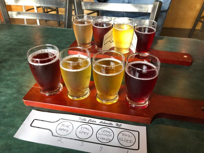 Flights at Noble Cider
