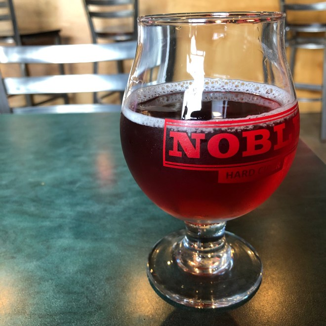 Blue Bard Cider from Noble