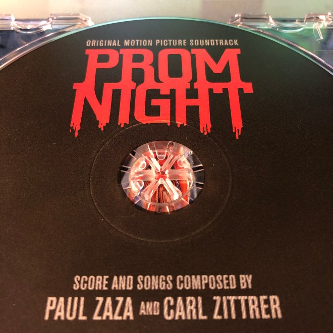 Prom Night Soundtrack CD