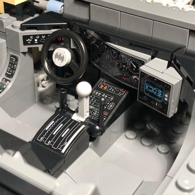 LEGO 1989 Batmobile Interior
