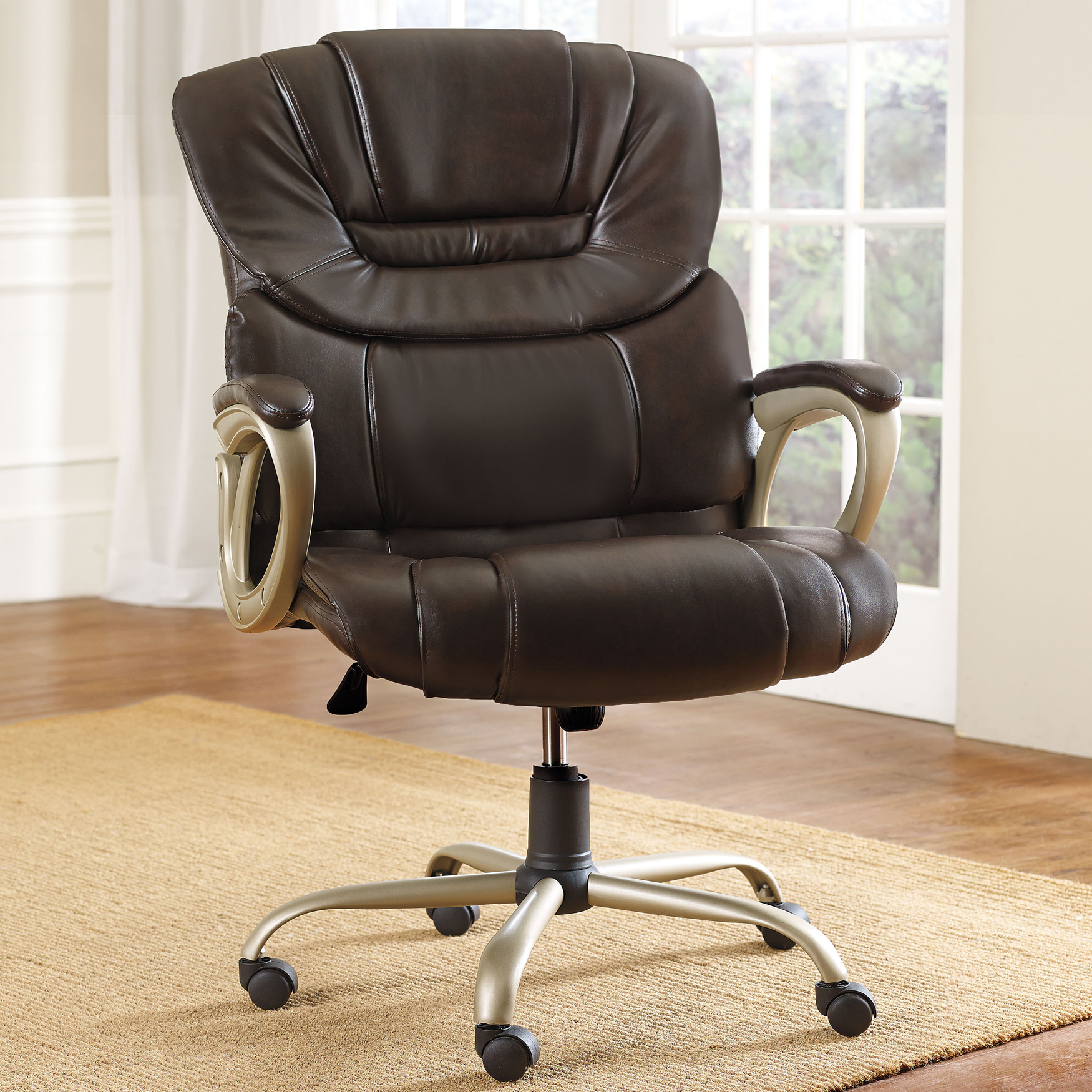 padded office chair black director covers now enjoy the plus size living collectionextra wide