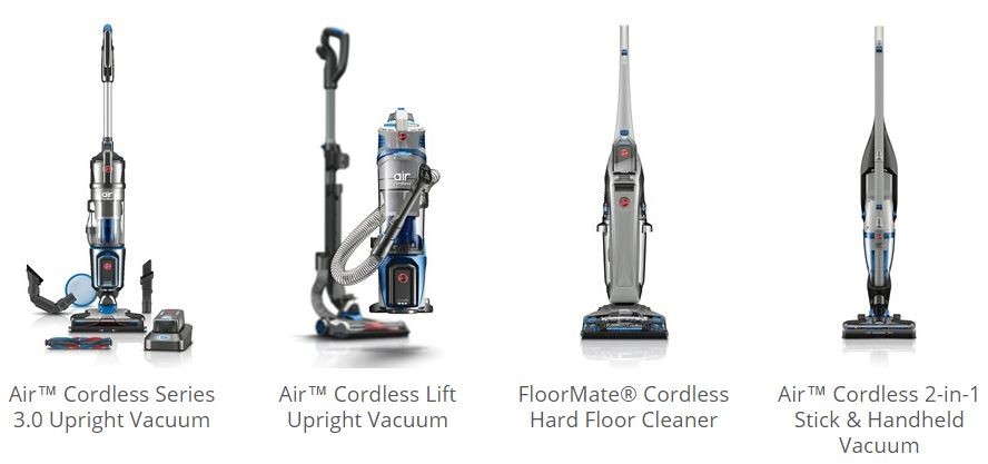 My New Hoover Cordless Vacuum ~ Making Cleaning Easier