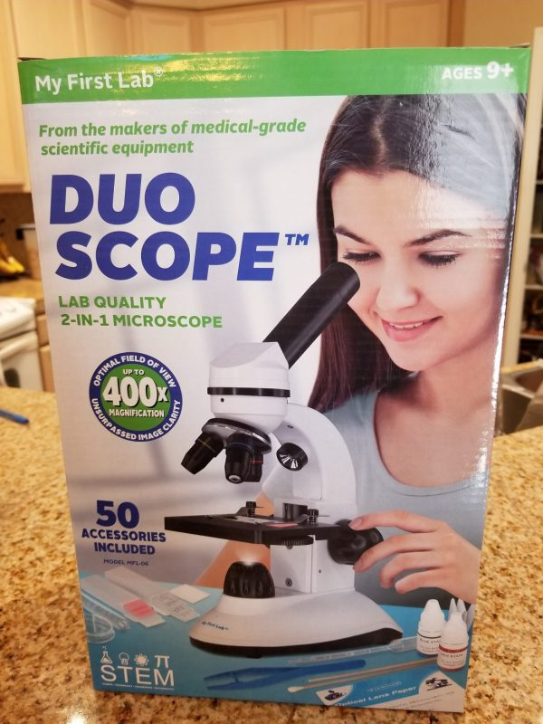 Brag Worthy Christmas Lab Duo-scope & Smartphone Inspector And
