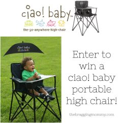 Ciao Portable High Chair Reviews Brown Leather Dining Chairs Modern Baby Go Anywhere Review Discount And