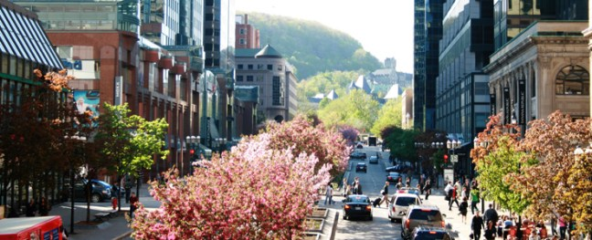 Spring in Montreal
