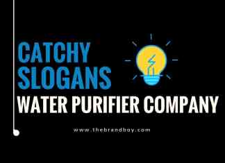 water purifier company slogans