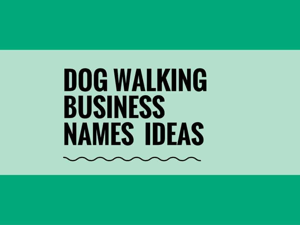 59 creative dog walking business names ideas entrepreneur blog