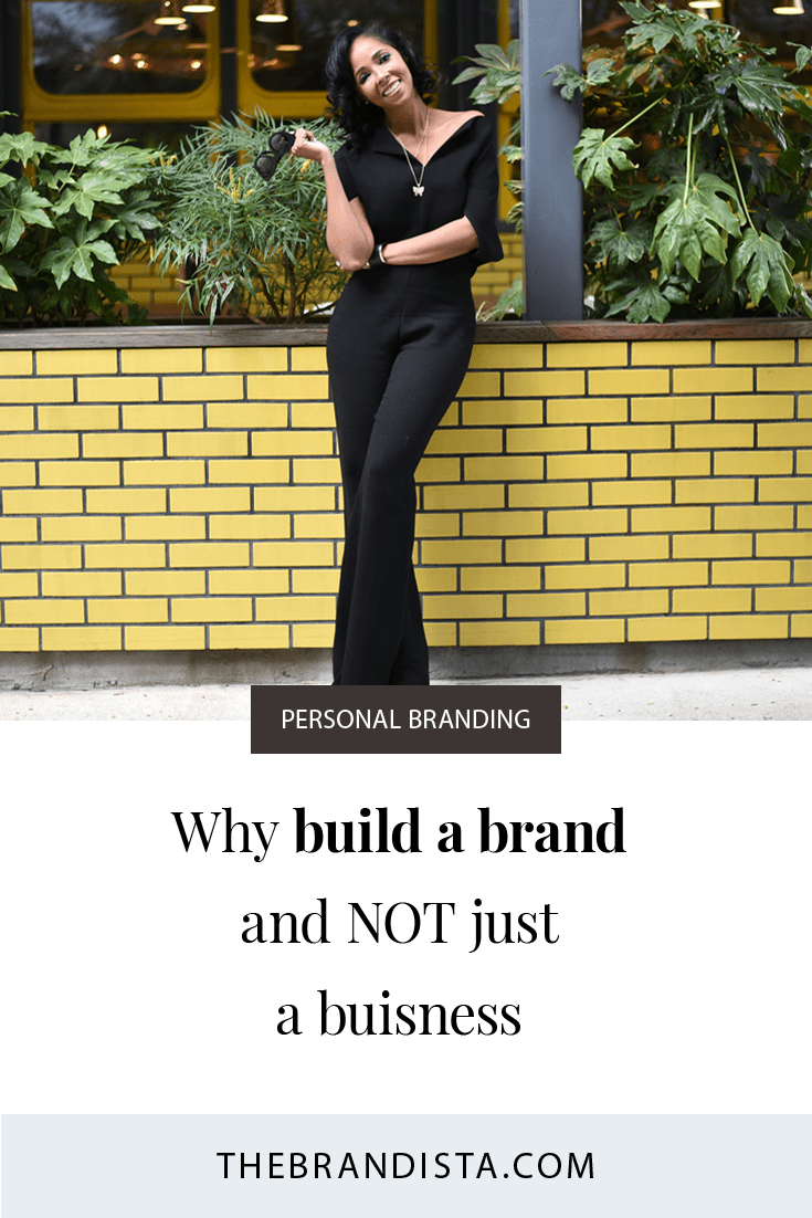 People you want to do business with will begin to like, trust, and know you exist. Read tips on how to build a personal brand that grows your business. People Do Business With People so you brand must in line with your target audience.