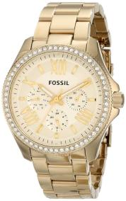 Fossil Cecile - AM4482 Gold Plated case, with Gold Plated Bracelet