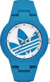 ADIDAS Aberdeen - ADH3118, Blue case with Blue Rubber Strap