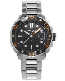 ALPINA Adventure Divers - AL-240LBO3V6B, Silver case with Stainless Steel Bracelet