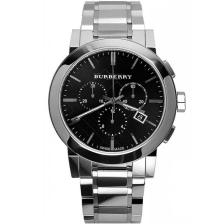 Burberry Chronograph Mens - BU9351 Silver case with Stainless Steel Bracelet