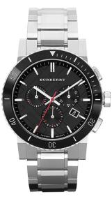 Burberry Chronograph Mens - BU9380 Silver case with Stainless Steel Bracelet