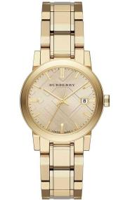Burberry The City- BU9134 Gold case with Stainless Steel Bracelet