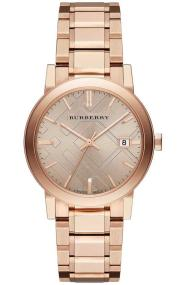 Burberry The City - BU9034 Rose Gold case with Stainless Steel Bracelet