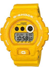 CASIO G-Shock XL - GD-X6900HT-9ER, Yellow case with Yellow Rubber Strap