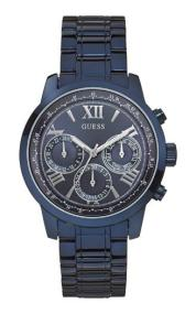 GUESS Chronograph - W0330L6 Blue case, with Blue Bracelet