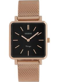OOZOO Vintage - C9848, Rose Gold case with Metal Strap