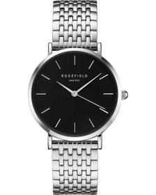 ROSEFIELD The Upper East Side - UEBS-U25 Silver case with Stainless Steel Bracelet