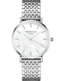 ROSEFIELD The Upper East Side - UEWS-U22 Silver case with Stainless Steel Bracelet