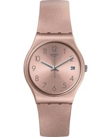 SWATCH Pinkbaya - GP403, Rose Gold case with Pink Rubber Strap
