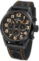 TW STEEL GCK Rallycross Special Edition Chronograph - TW982, Black case with Black Leather Strap