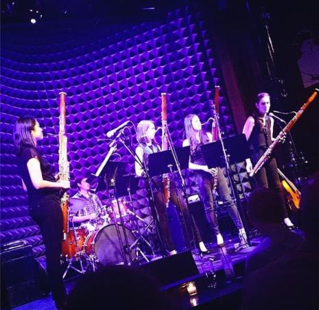 Bassoon Quartet at Joes Pub