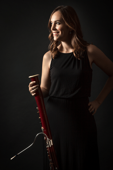 Kara LaMoure Breaking WInds Bassoon Quartet