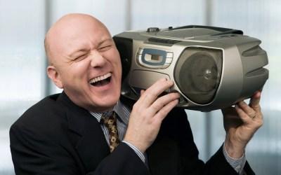 It's a Phone, Not a Boom Box