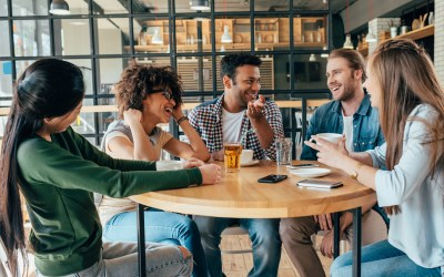 Good News: People are Meeting and Talking