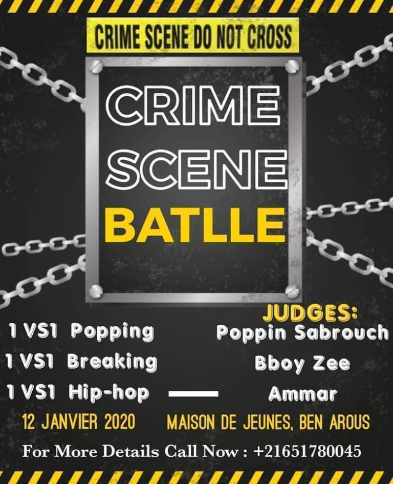 Crime Scene Battle