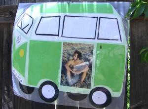 Adam in a VW Bus