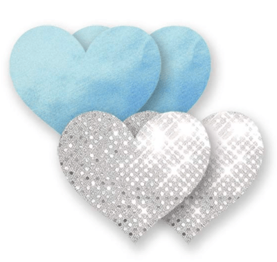 Bristols Six Something Blue Heart Nippies