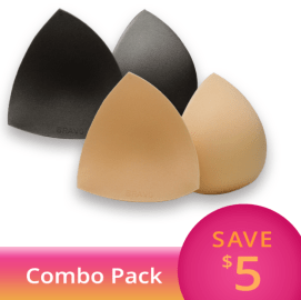 Bravo Triangle Bikini Shaper Combo Pack (Modesty Covers)