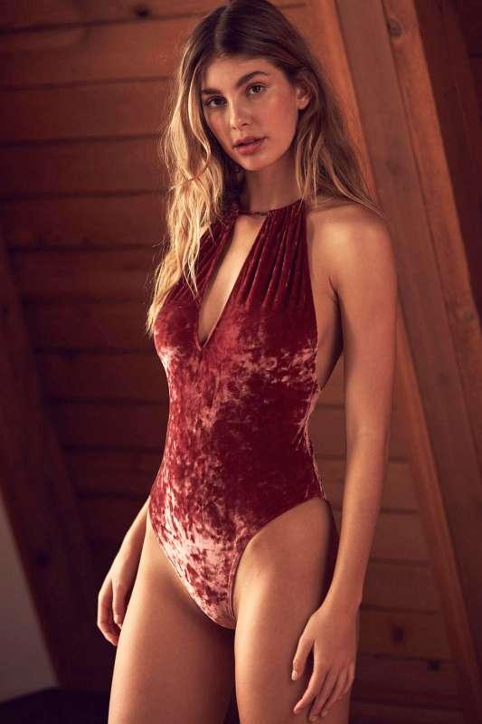 velvet lingerie