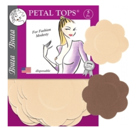 Braza Petal Tops - Disposable Nipple Covers
