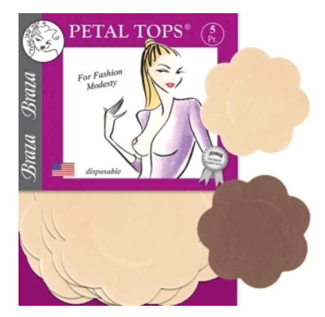 dc5e2e10924 Braza Petal Tops - Disposable Nipple Covers - The Breast Life