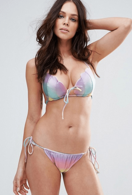 full-bust swimwear