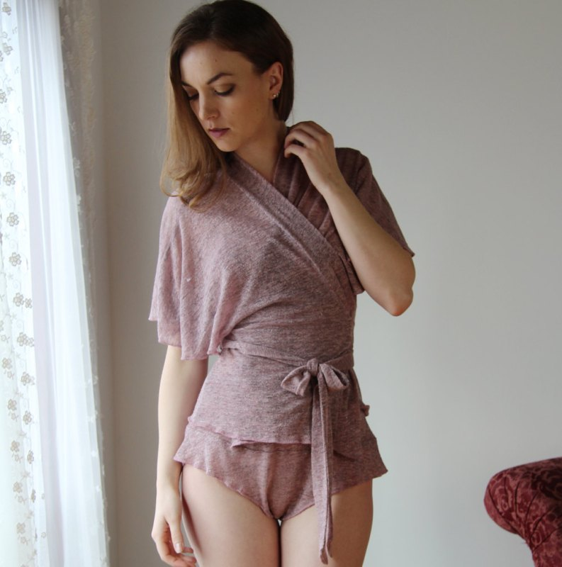 full bust sleepwear