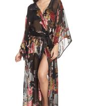 Natori Burnout Velvet Robe