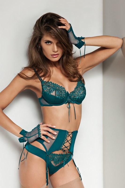 4f4f65970cf92 20 Festive Dark Green Lingerie and Nightwear Looks - The Breast Life