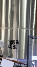 480bbl fermenter